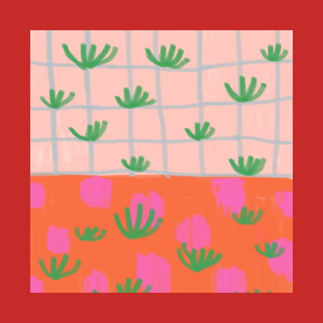 Tropical Plants Grid