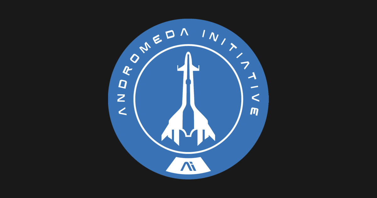 Andromeda initiative mass effect andromeda t shirt for Mass t shirt production