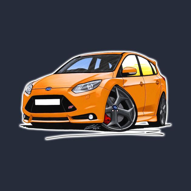 Ford Focus (Mk3) ST Orange