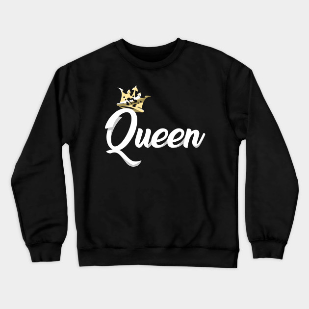 Stunning Design for Any Queen Queen Hoodie Crown
