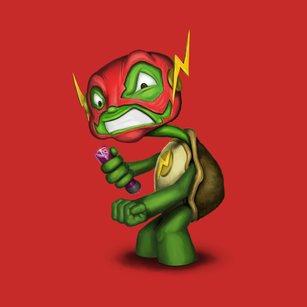 Turtle in a Flash Shell