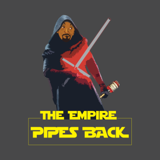 JR: The Empire Pipes Back t-shirts