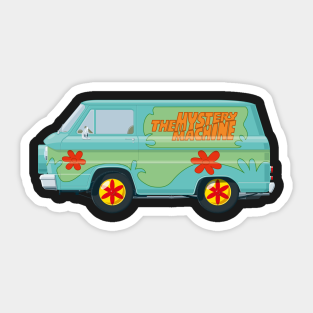 Scooby Doo Daphne Scary Cartoon Car Bumper Sticker Decal 3/'/' x 5/'/'