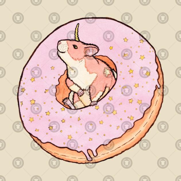 Sweet Fantasy Unicorn Hamster