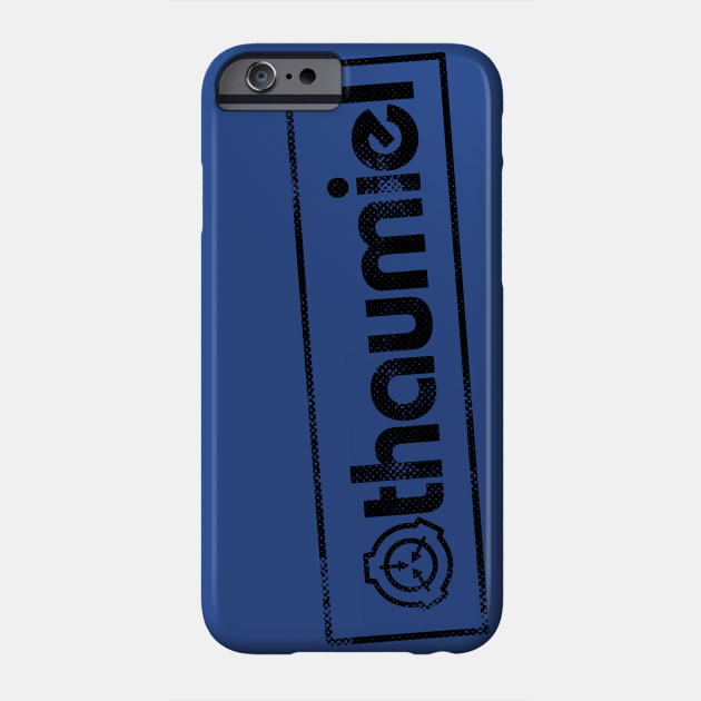 Thaumiel Scp Foundation Object Class Thaumiel Phone Case Teepublic This class includes deus ex machina, sauelsuesor, and. teepublic