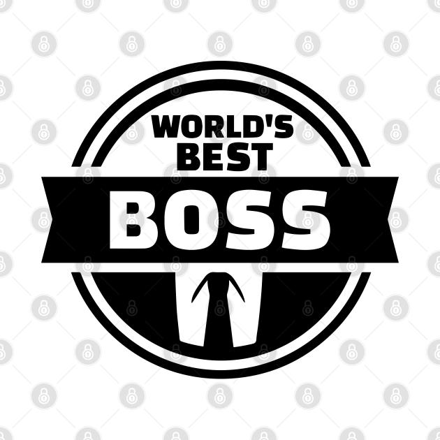 world's best boss tee