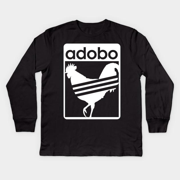 6de78f7d1 Pinoy Shirt Chicken Adobo funny Filipino Shirt Kids Long Sleeve T-Shirt