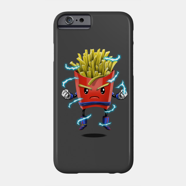 945c581190b Saiyan Fries - Goku Super Saiyan - Phone Case | TeePublic
