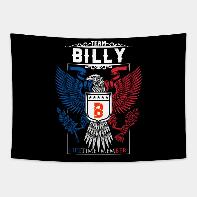 TEAM BILLY LIFETIME MEMBER ,BILLY NAME