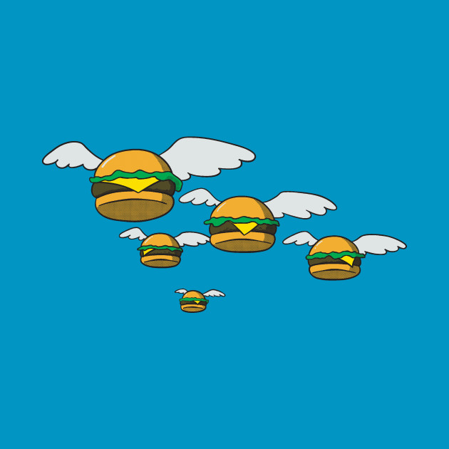 Flying Burgers