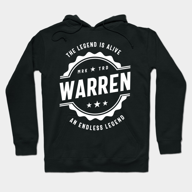 Warren Personalized Name Birthday Gift Hoodie