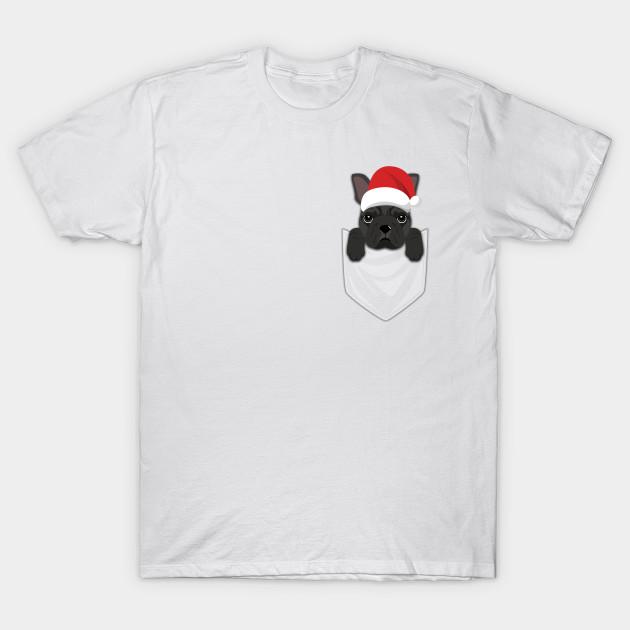 995ee29f9 French Bulldog Dog Frenchie Christmas Pocket Graphic - French ...