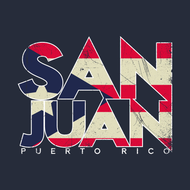Puerto Rican Flag San Juan