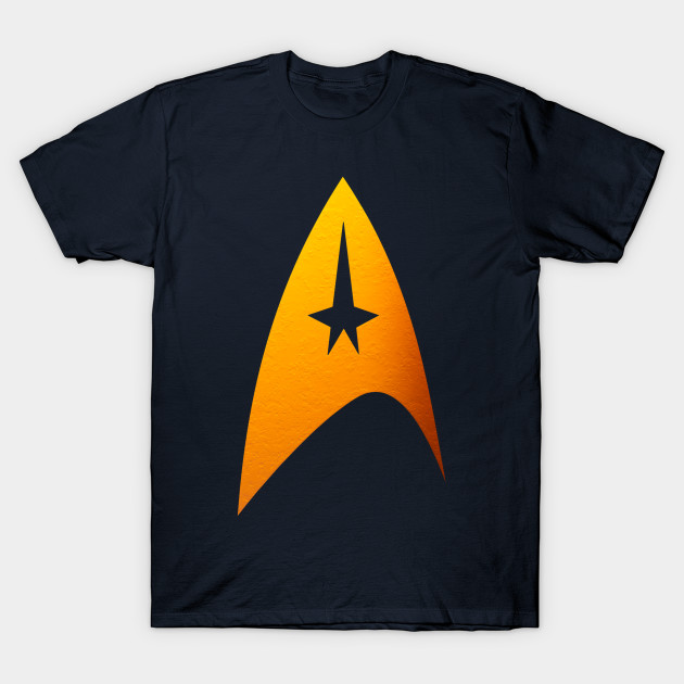f5d1d5a3a Textured star trek symbol - Star Trek - T-Shirt | TeePublic