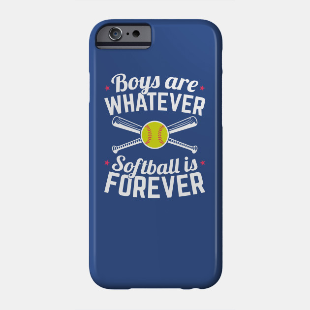 competitive price 4e9cf 851eb Softball Gifts For Teen Girls Funny Saying Boys Are Whatever Softball Is  Forever