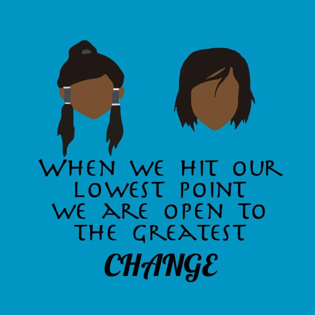 Korra's Change