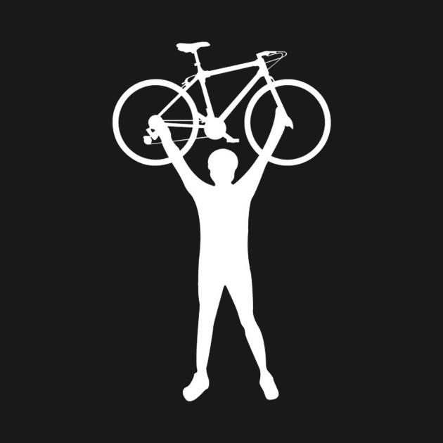 I Love Cycling Celebratory T Shirt Cycling Kids Long Sleeve T