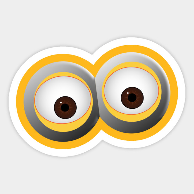 This is a picture of Fan Minion Eye Printable