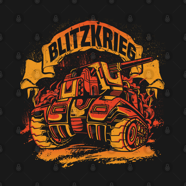 Blitzkrieg Tiger, Panzer 3 Comic Art Frank the Tank Costume
