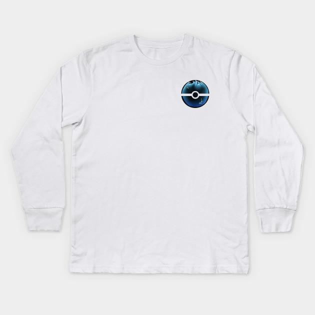 bdf5f677 Water-filled Pokeball - Pokemon - Kids Long Sleeve T-Shirt | TeePublic