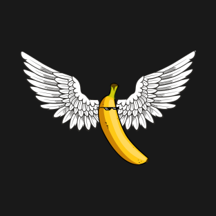 39e8372f95b9 Cool Banana T Shirt Deal With It Glasses Banana Wings Tee T-Shirt