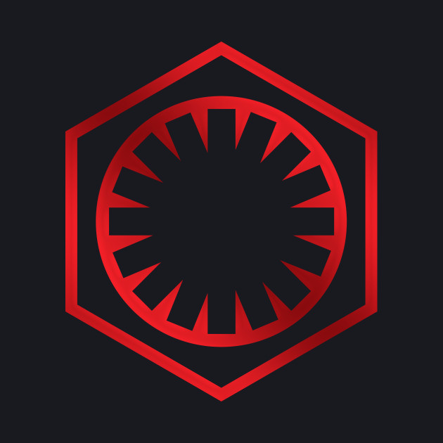 The First Order/New Imperial Logo - Red