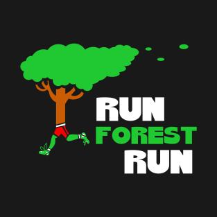 a3dc5703e Run Forest Run T-Shirt Running Tree Runner Fun Run Gift Tee Tshirt T-Shirt.  by PrankyStore