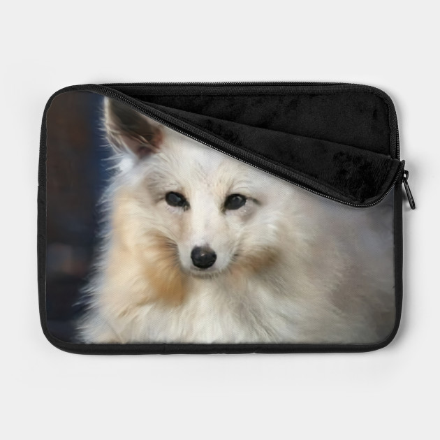 Wild Animal Wildlife Art White Fox
