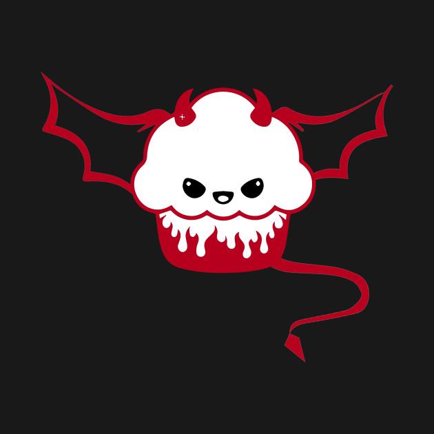 Kawaii Cute Evil Cupcake Halloween - Kawaii Cute Evil ...