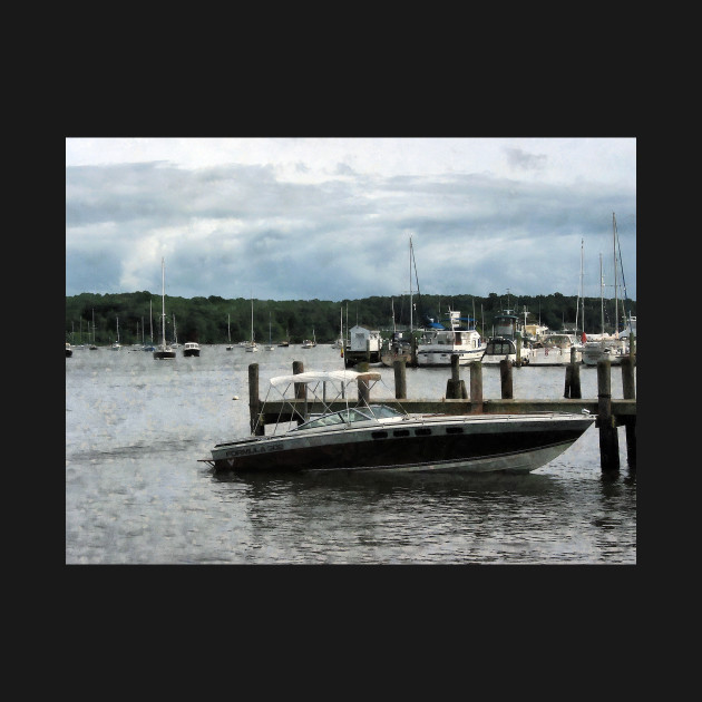 Essex CT - Stormy Day At The Harbor