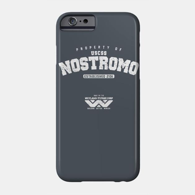 ALIEN INSPIRED USCSS NOSTROMO WEYLAND YUTANI iphone case