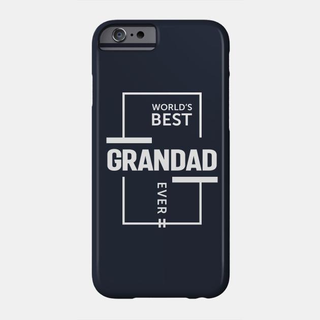 Mens World's Best Grandad Ever Grandpa Gift Phone Case