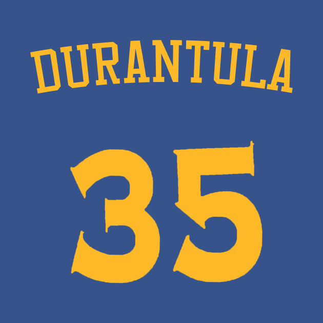 new style 42728 89253 Kevin Durant 'Durantula' Nickname Jersey - Golden State Warriors