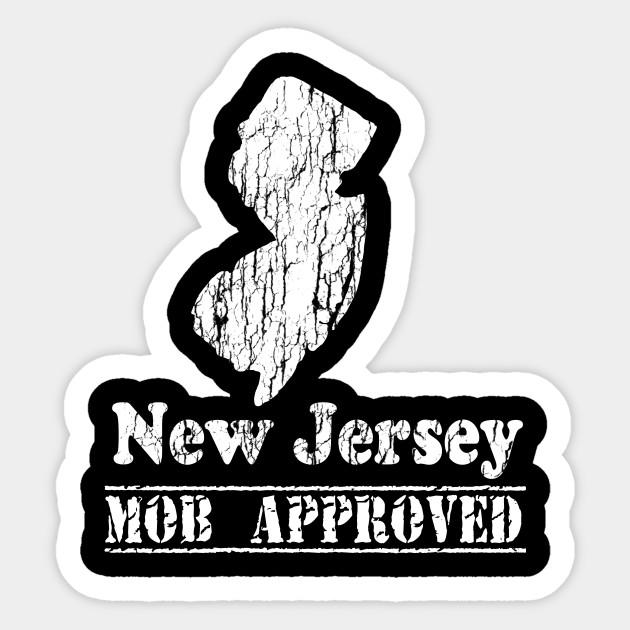 721f07b3b Vintage New Jersey Logo - New Jersey - Sticker