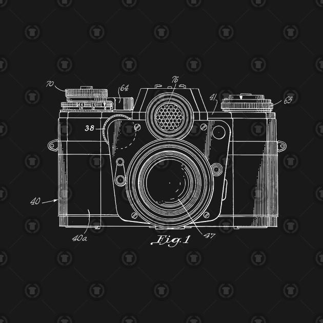 Vintage 1962 Camera Patent Blueprint