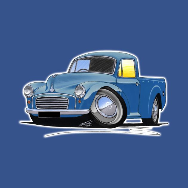 Morris Minor Pick-Up Blue