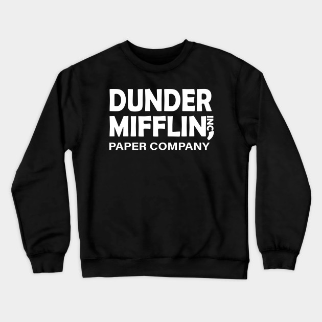 Men's The Office Tv Series Dunder Mifflin Logo T-Shirt