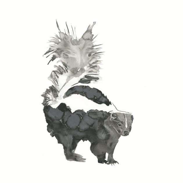 Skunk Painting