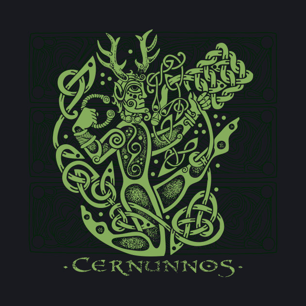 Cernunnos, the Celtic Horned God