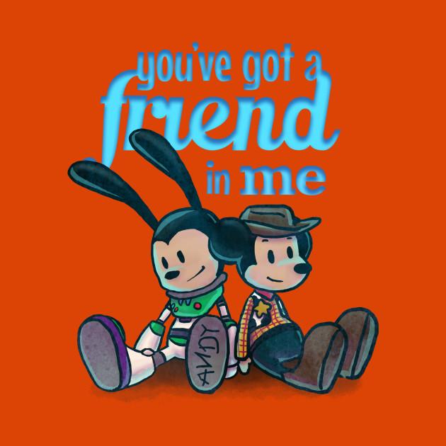 You Ve Got A Friend In Me Toy Story Kids T Shirt Teepublic