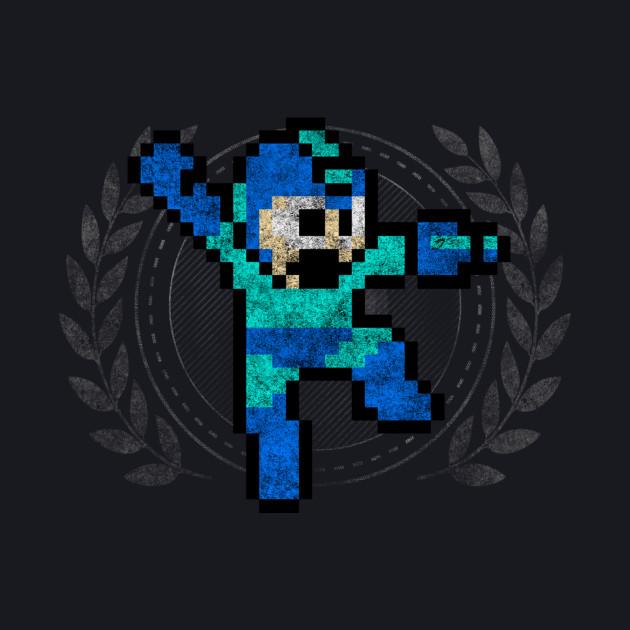 Mega Man - Sprite Badge