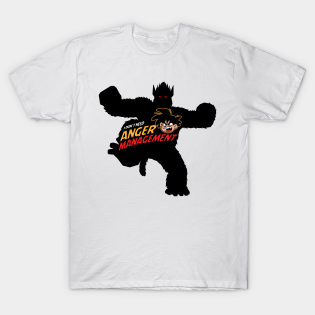 songoku, anger management T-Shirt-TOZ