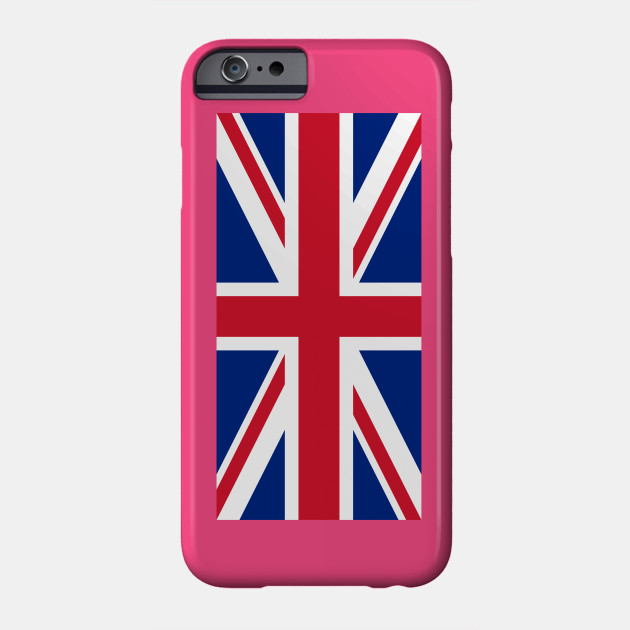 Upside Down Union Jack Uk Phone Case Teepublic