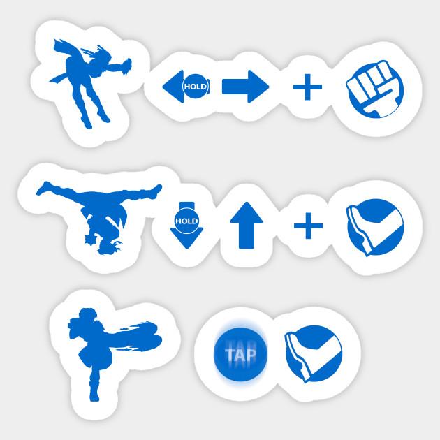 Street Fighter Moves Chun Li Street Fighter Sticker Teepublic