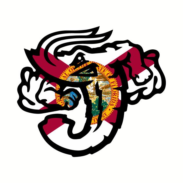 Jacksonville Jumbo Shrimp Florida Flag