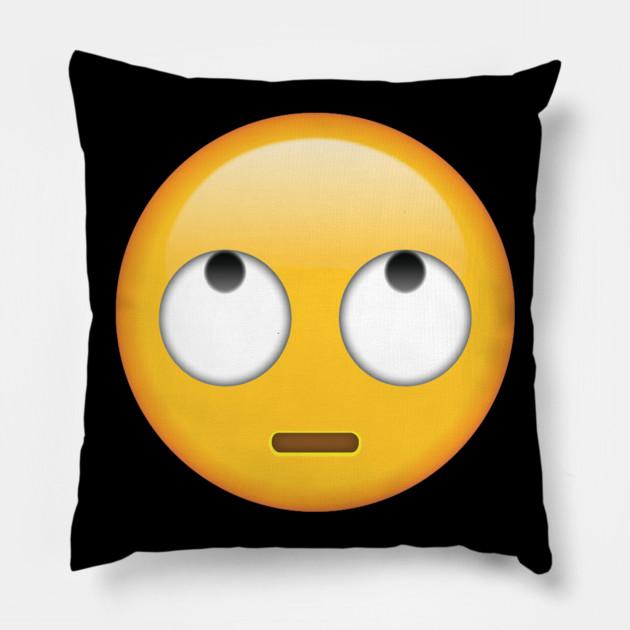 Cuscini Emoticon.Emoji Face With Rolling Eyes Emoji Face With Rolling Eyes
