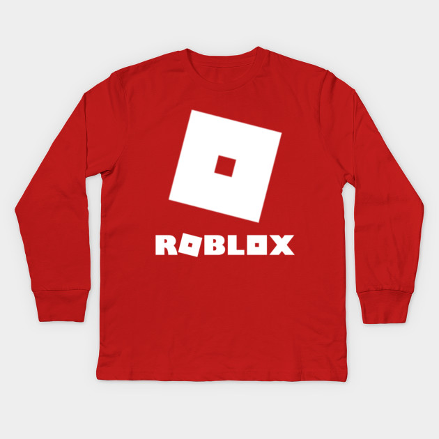c44c6fa3 Roblox Logos - Roblox - Kids Long Sleeve T-Shirt | TeePublic
