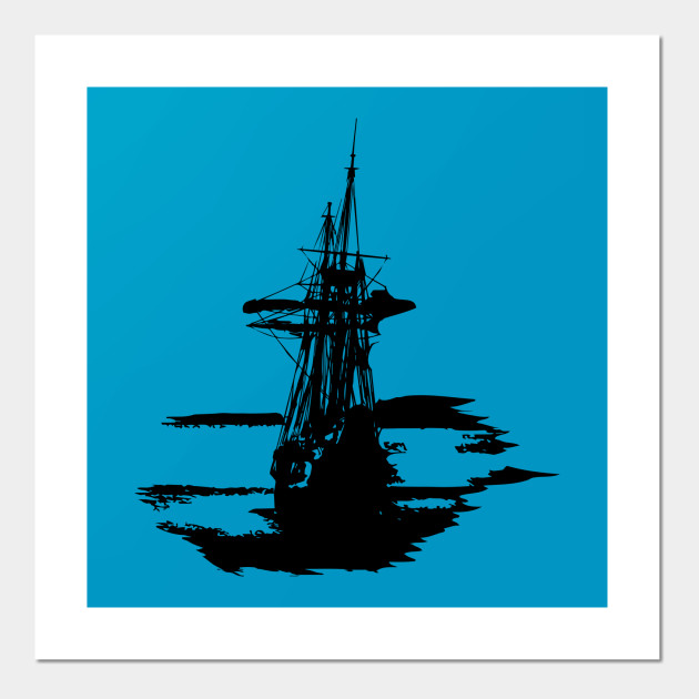Pirate Ship Pirate Ship Posters And Art Prints Teepublic