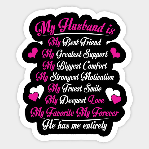 My Husband Is My Best Friend Anniversary Gift Anniversary