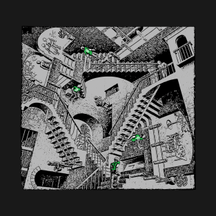 Apartment of Stairs t-shirts